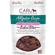 Caru Soft 'n Tasty Baked Bites Alligator Recipe Grain-Free Dog Treats, 4-oz bag