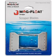 Mag-Float Scraper Blades Aquarium Cleaner, Small/Medium