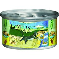 Lotus Duck Pate Grain-Free Canned Cat Food, 2.75-oz, case of 24