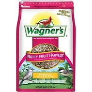 Wagner's Nutty Fruit Harvest Premium Wild Bird Food, 6-lb bag