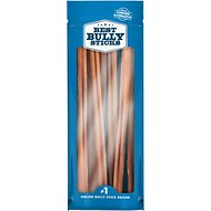 "Best Bully Sticks 12"" Bully Sticks Dog Treats, 8-oz bag"