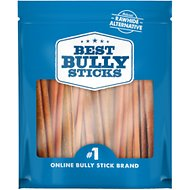 "Best Bully Sticks Odor-Free 6"" Bully Sticks Dog Treats, 18 count"