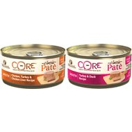 Wellness CORE Grain-Free Poultry Pleasers Variety Pack Canned Cat Food, 5.5-oz, case of 30