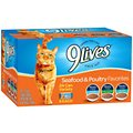 9 Lives Seafood & Poultry Favorites Variety Pack Canned Cat Food