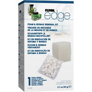 Fluval Edge Foam & Biomax Renewal Kit, 1 Count