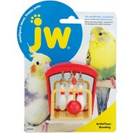 JW Pet Activitoy Birdie Bowling Toy, Small/Medium