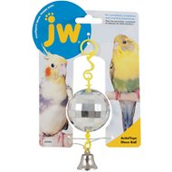 JW Pet Activitoy Birdie Disco Ball Toy, Small/Medium