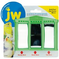 JW Pet Activitoy Birdie House of Mirrors Toy, Small/Medium