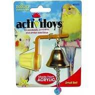 JW Pet Activitoy Birdie Bell Toy, Small/Medium