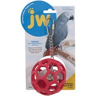 JW Pet Hol-ee Roller Bird Toy, Color Varies, Large