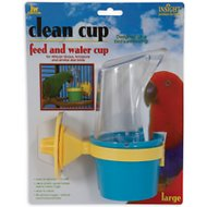 JW Pet InSight Clean Cup Bird Feed & Water Cup, Large