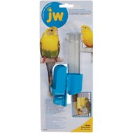 JW Pet Clean Seed Silo Bird Feeder, Regular