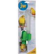 JW Pet Clean Seed Silo Bird Feeder, Tall