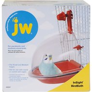JW Pet InSight Bird Bath, Regular