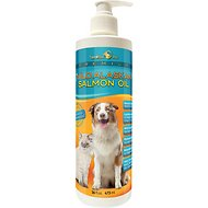 TerraMax Pro Premium Wild Alaskan Salmon Oil Skin & Coat Dog and Cat Liquid Supplement, 16-oz bottle