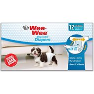 Wee-Wee Disposable Doggie Diapers, X-Small
