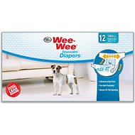 Wee-Wee Disposable Doggie Diapers, Small