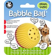 Pet Qwerks Animal Babble Ball Dog Toy, Color Varies, Small