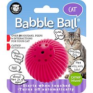 Pet Qwerks Babble Ball Cat Toy, Catnip