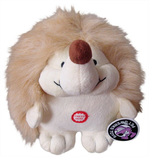 Hedgehog Pet Price >> Pet Qwerks Hedgehog Plush Dog Toy, Small - Chewy.com