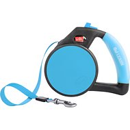 Wigzi Retractable Gel Leash, Blue, Small