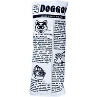 Pet Qwerks Krinkle & Squeak Newspaper Dog Toy, Large