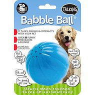 Pet Qwerks Talking Babble Ball Dog Toy, Large