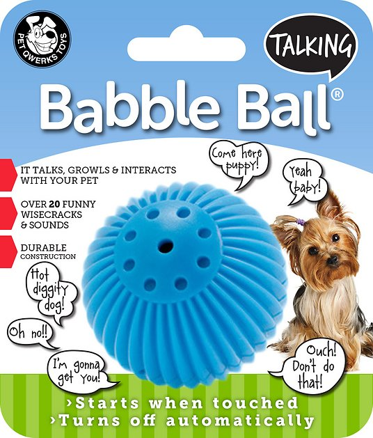 pet-qwerks-talking-babble-ball-dog-toy by pet-qwerks
