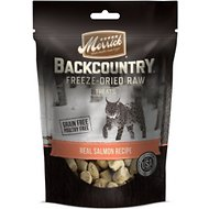 Merrick Backcountry Grain-Free Real Salmon Recipe Freeze-Dried Raw Cat Treats, 1-oz bag