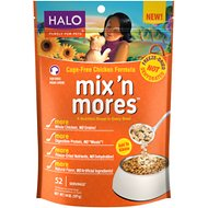Halo Mix'n Mores Freeze-Dried Cage-Free Chicken Dog Food Topper, 14-oz bag