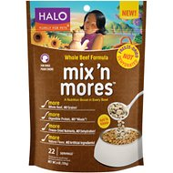 Halo Mix'n Mores Freeze-Dried Whole Beef Dog Food Topper, 6-oz bag