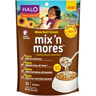Halo Mix'n Mores Freeze-Dried Whole Beef Dog Food Topper, 14-oz bag