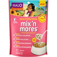 Halo Mix'n Mores Freeze-Dried Salmon & Turkey Dog Food Topper, 6-oz bag