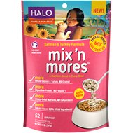 Halo Mix'n Mores Freeze-Dried Salmon & Turkey Dog Food Topper, 14-oz bag