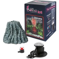 Hydor H2ShOw Volcano Bubble Maker Kit for Aquariums, Red