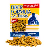 Stewart Pro-Treat Fiber Formula Cat Treats, 2.1-oz bag