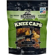 Redbarn Naturals Knee Caps Dog Treats, 4 pack