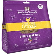 Stella & Chewy's Chick Chick Chicken Dinner Morsels Grain-Free Freeze-Dried Cat Food, 18-oz bag