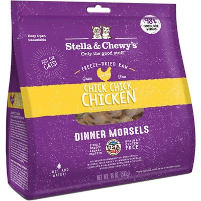 Stella and Chewy's Chick Chick Chicken Dinner Freeze-Dried Raw Cat Food