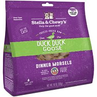 Stella & Chewy's Duck Duck Goose Dinner Morsels Freeze-Dried Raw Cat Food, 18-oz bag