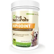 Pet Naturals of Vermont Hip + Joint Dog Chews, 160 count