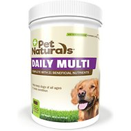 Pet Naturals of Vermont Daily Multi Dog Chews, 150 count