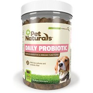 Pet Naturals of Vermont Daily Probiotic Dog Chews, 160 count