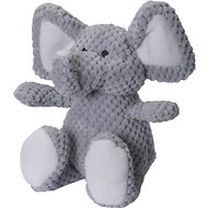 GoDog Checkers Chew Guard Elephant Dog Toy, Small