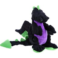 GoDog Dragons Chew Guard Dog Toy, Black, Large