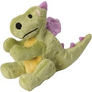 GoDog Dragons Chew Guard Dog Toy, Lime Green, Small