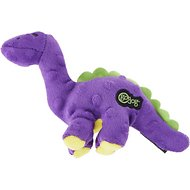 GoDog Just for Me Chew Guard Purple Bruto Dog Toy