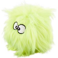 GoDog Just for Me Chew Guard Dog Toy, Lime, Small
