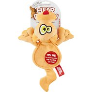 Hear Doggy Silent Squeaker Flattie Cat Dog Toy