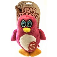 Hear Doggy Silent Squeaker Penguin Dog Toy, Large
